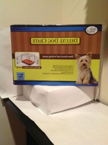 deluxe dog crate for small dog