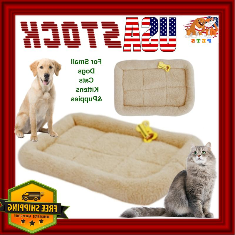 Dog Bed Mat SMALL Dog Cat Ferret Pet Crate House Carrier Sof
