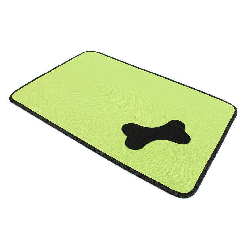 Dog Bed Kennel Pad Green Sun