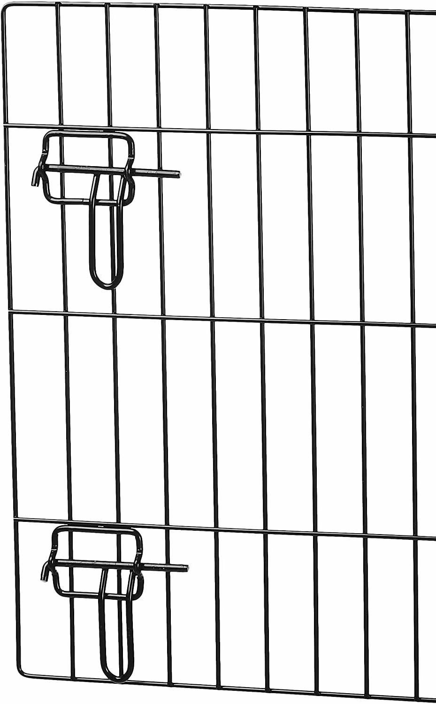 PETSWORLD Crate, 36-inch Single Door, Folding Metal Pet Crate