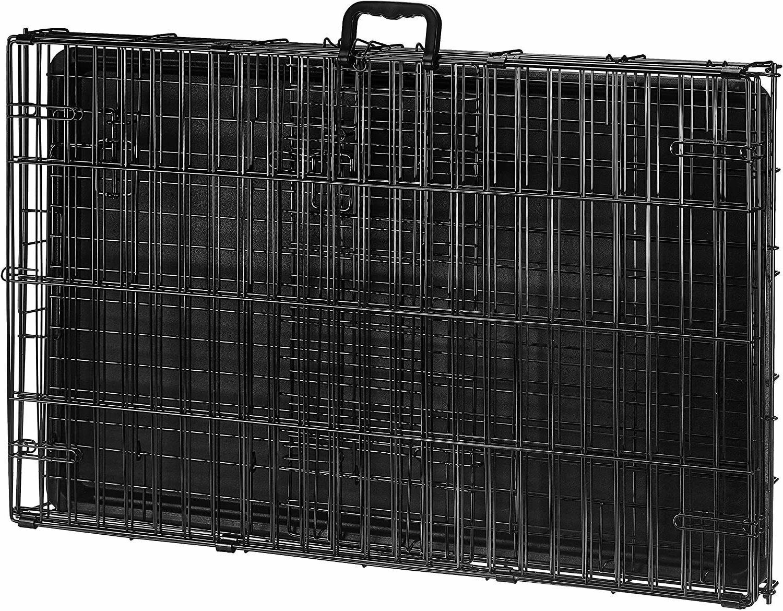 PETSWORLD Dog Crate, 36-inch Single Metal Pet