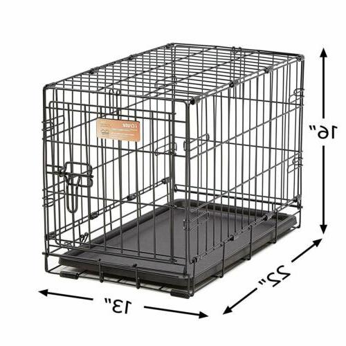 MidWest Homes for Pets Dog Crate   iCrate Single Folding Metal Crates