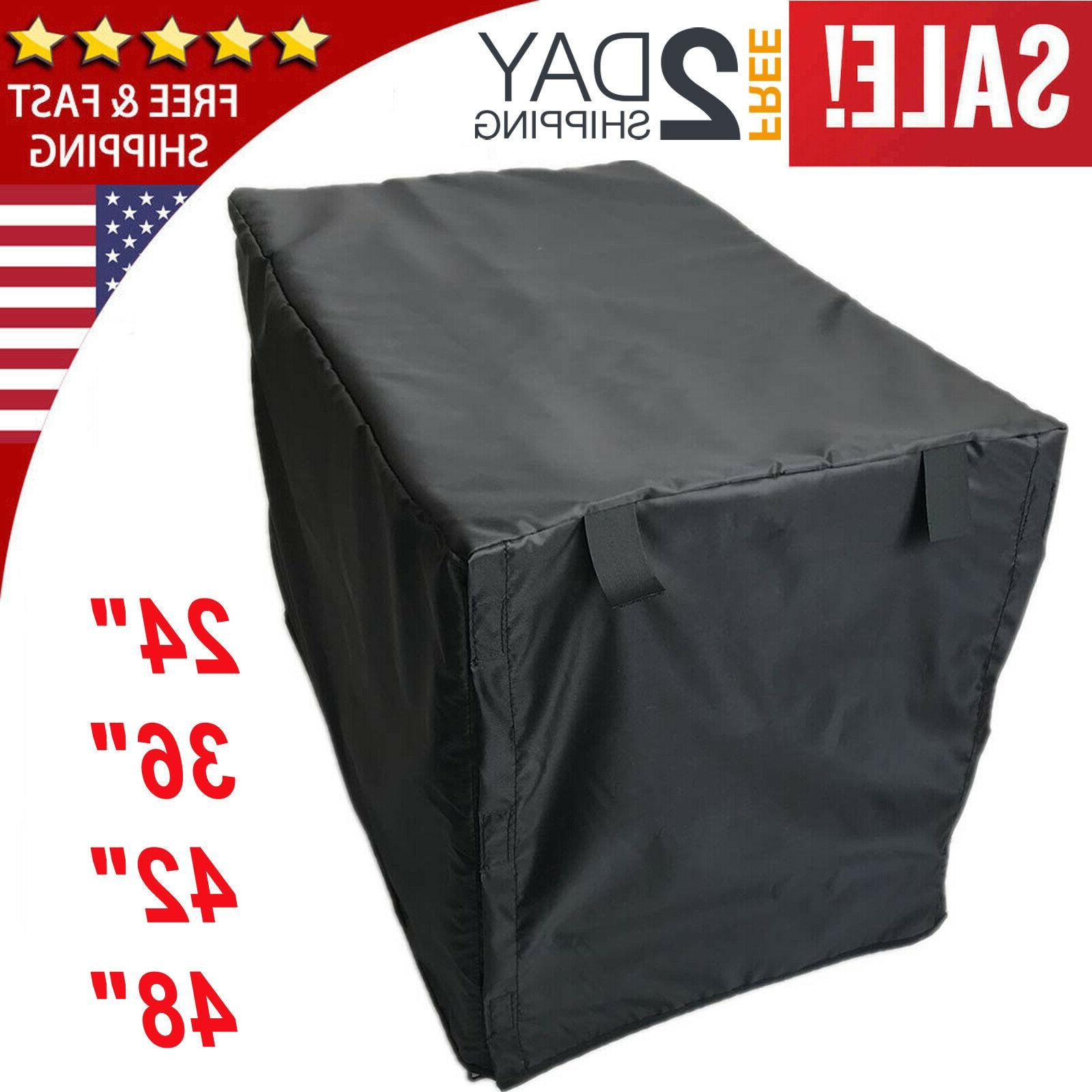 dog crate pet cage kennel cover black