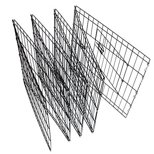 Playpens - Back Fence Cage Rabbit Outside Fences 36 Inch 8-Panel