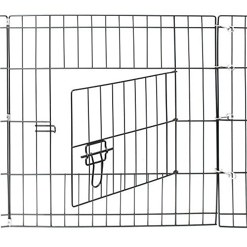 Dog Pet Playpens for Large Dogs - Playpen Back or Fence Fencing Rabbit Cats Fences 36 Inch Metal 8-Panel Foldable