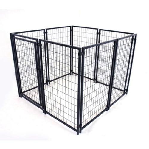 ALEKO DK5X5X4SQ DIY Dog Kennel Playpen Chicken Coop Hen House 5 Feet