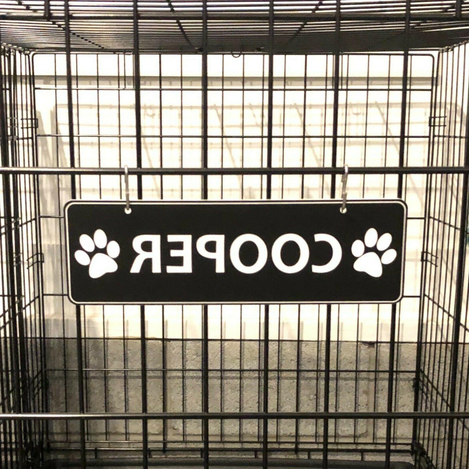 """Dog Kennel Tag 20+ Color """"S"""" Hooks"""