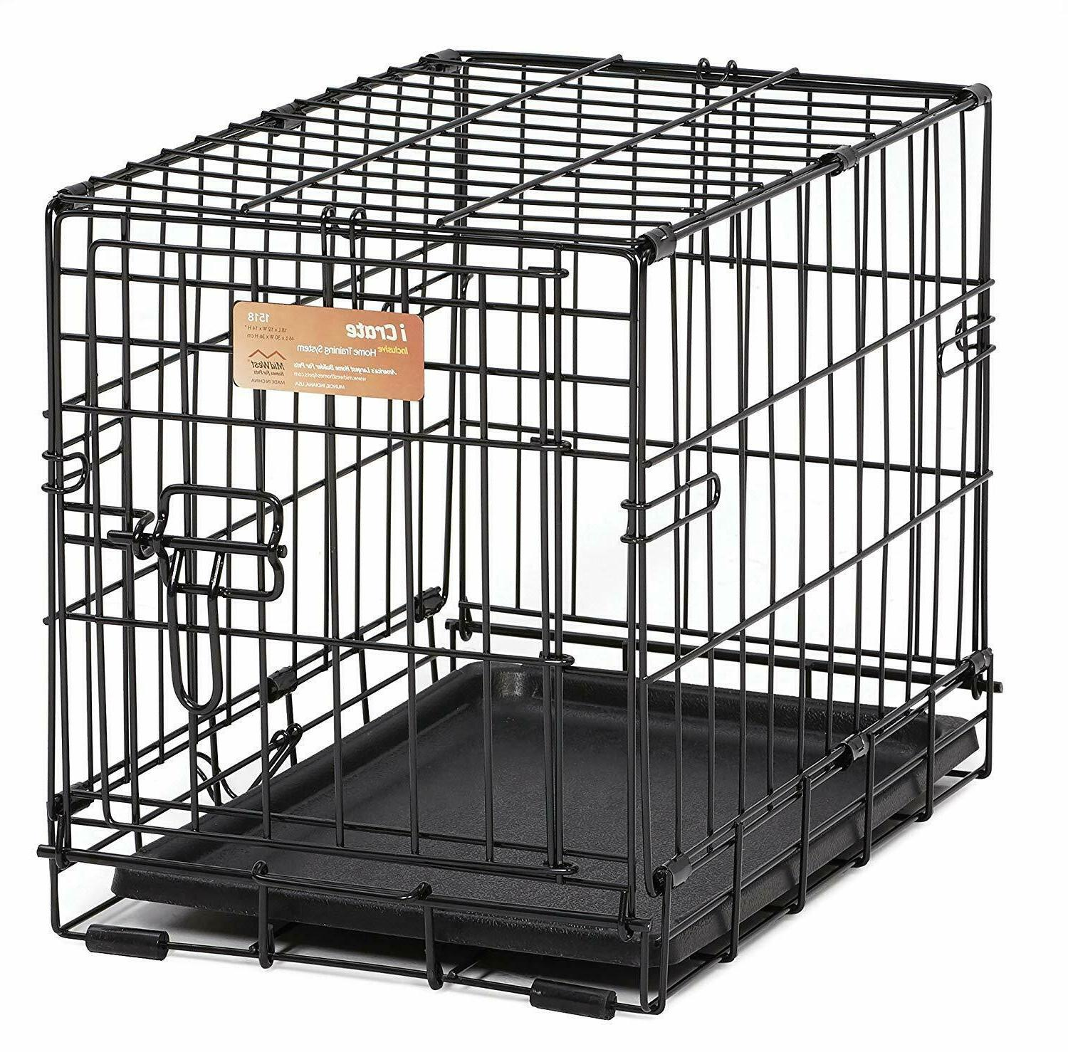 Dog Puppy Cage for Pets New Single-Door Pet Crate Small up 6