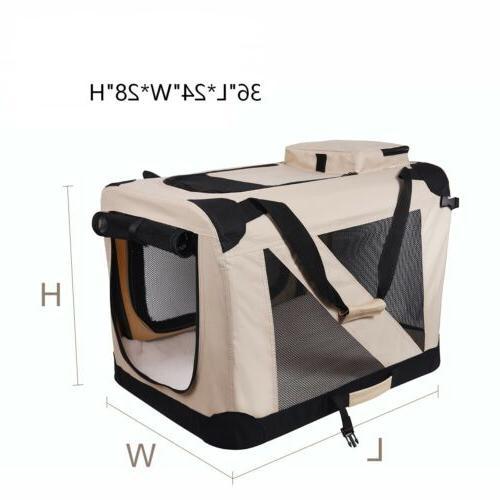 "Soft Dog JESPET 3 Door Soft Sided Folding Travel Carrier 36"""