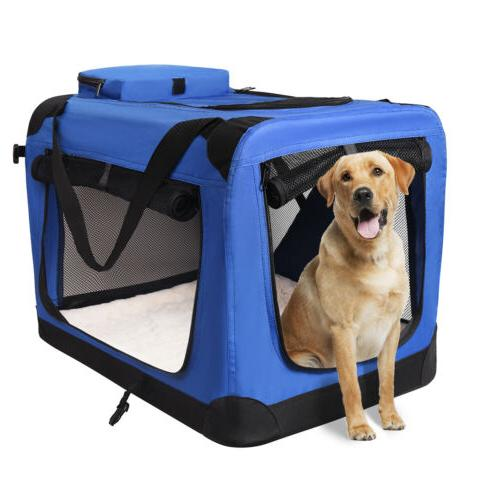 Pets Kennel for Pet Indoor Home & Use - Soft Sided Door