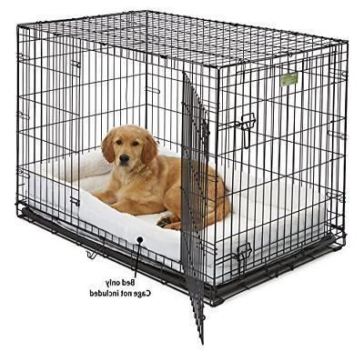 Double Bolster 42-Inch & Dog Crates Bumper