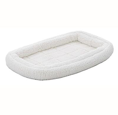 double bolster pet bed 42 inch dog