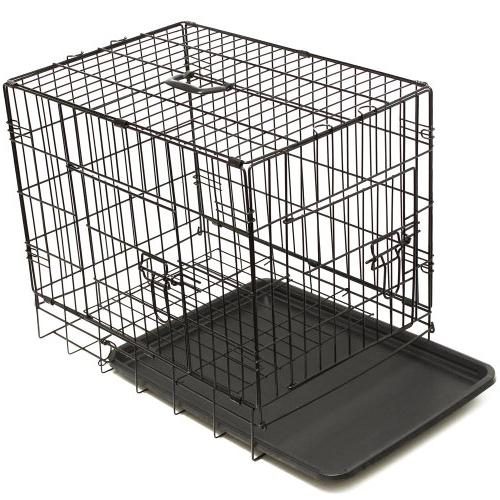 OxGord Folding Metal Wire Pet Crate for Rabbits