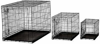 AmazonBasics Double-Door Metal Dog Inches