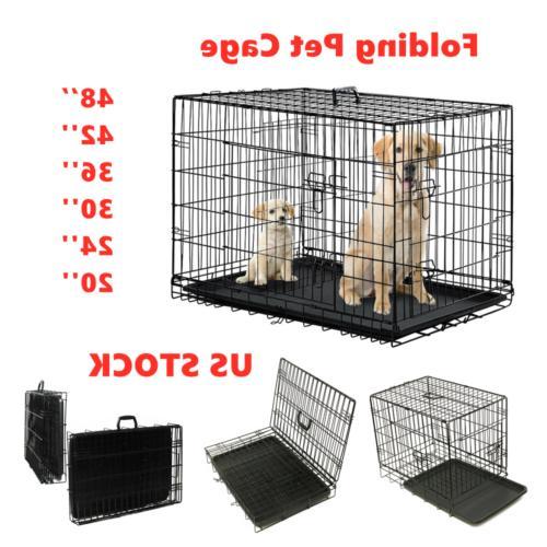 extra large dog crate 48 kennel folding