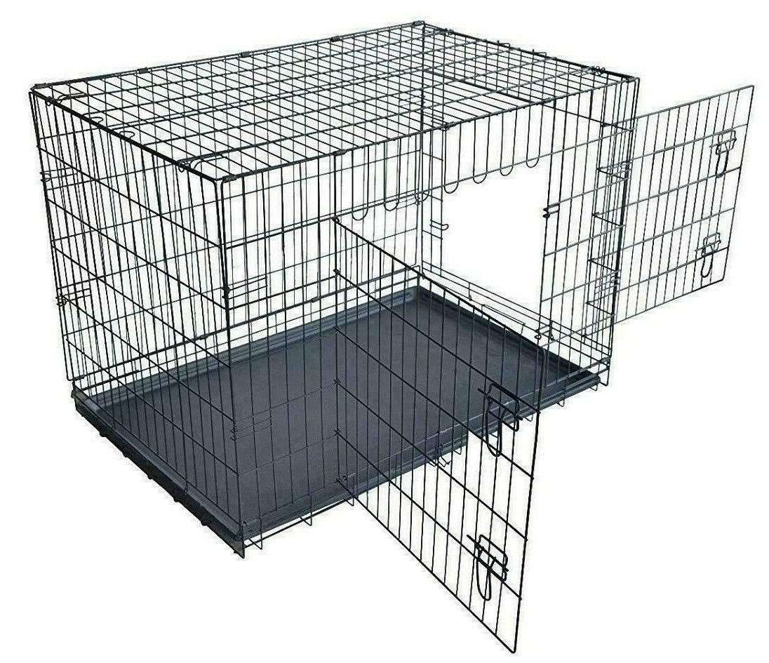 Extra Large Kennel Crate Folding Cage Tray XL