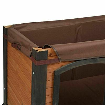 Extra Large House XL Kennel Crate Big Elevated Backyard