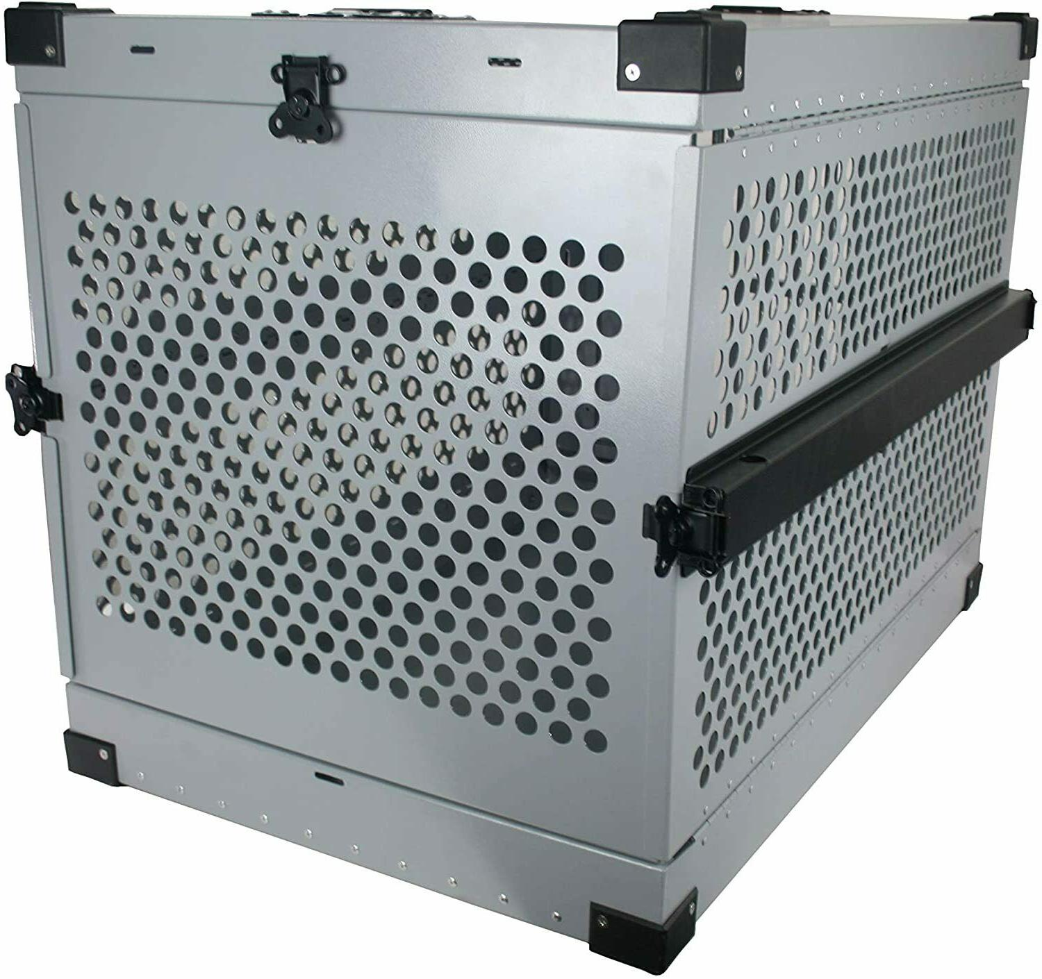 Extreme Rugged Dog Crate Duty Collapsible Travel Carrier