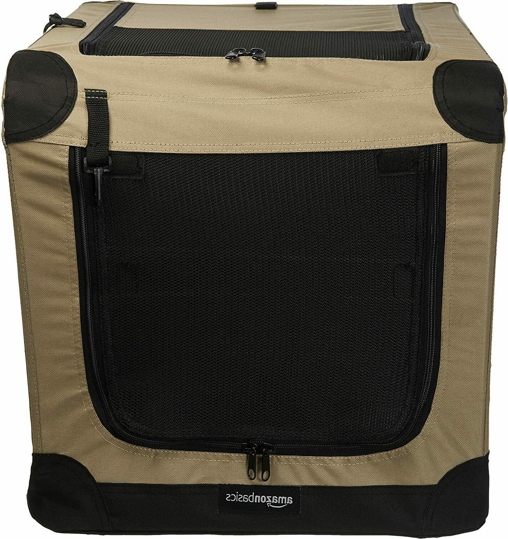 Amazonbasics Folding Crate, Kennel 26x18x18