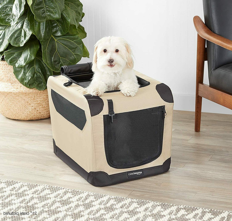Amazonbasics Crate, Portable, Kennel 26x18x18