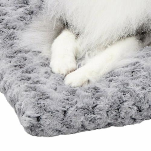 MidWest Homes for Deluxe Pet Beds Plush Cat Beds Dog