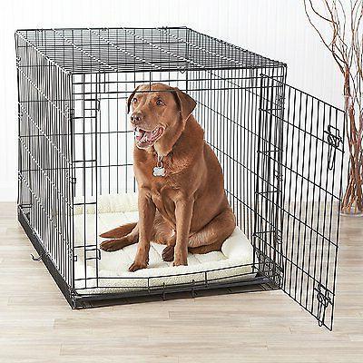 Indoor Kennel Large Pet Single-Door Metal