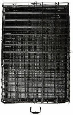 Indoor Folding Cage Crate Kennel Pet Single-Door Metal