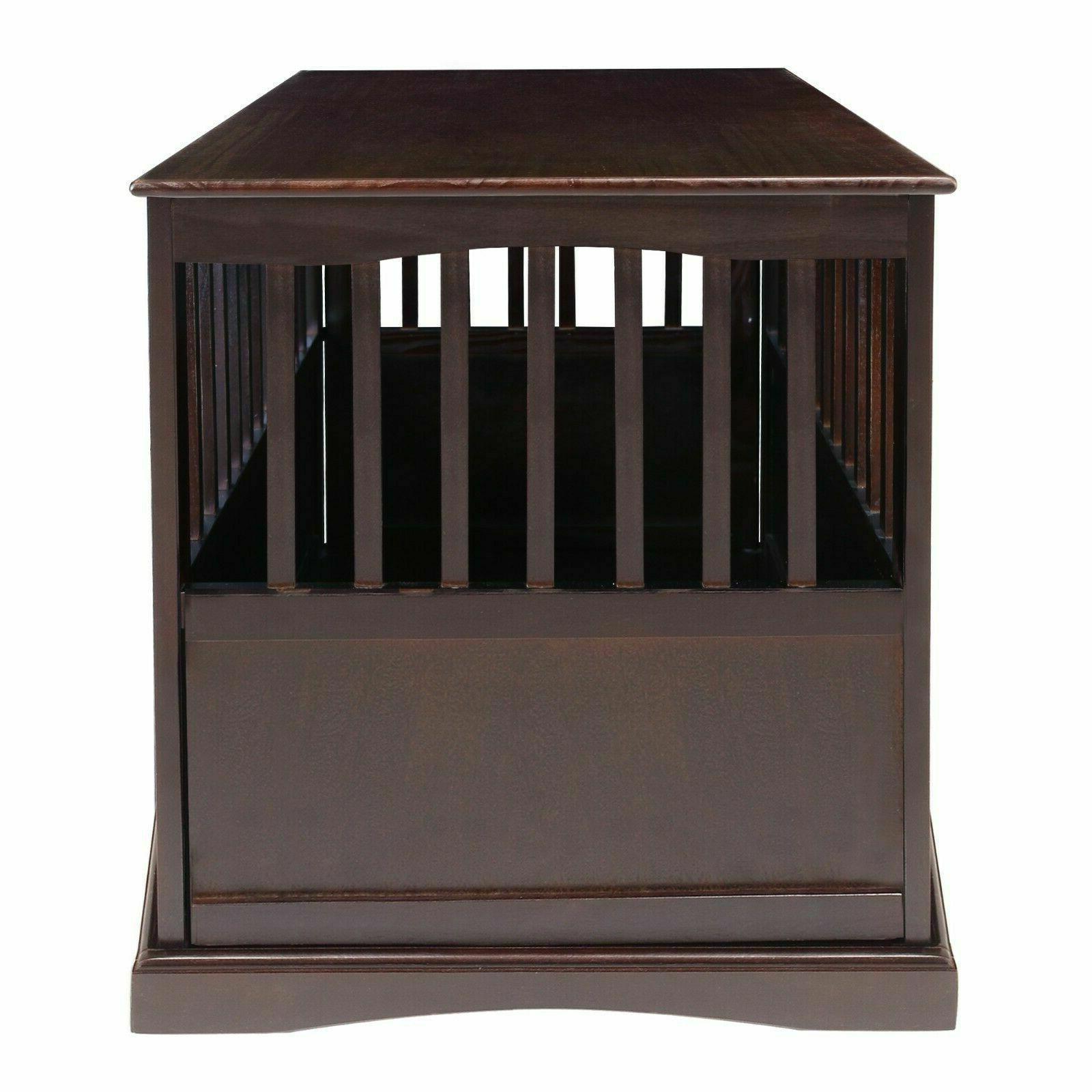 Indoor Dog Crate End Big Kennel Furniture