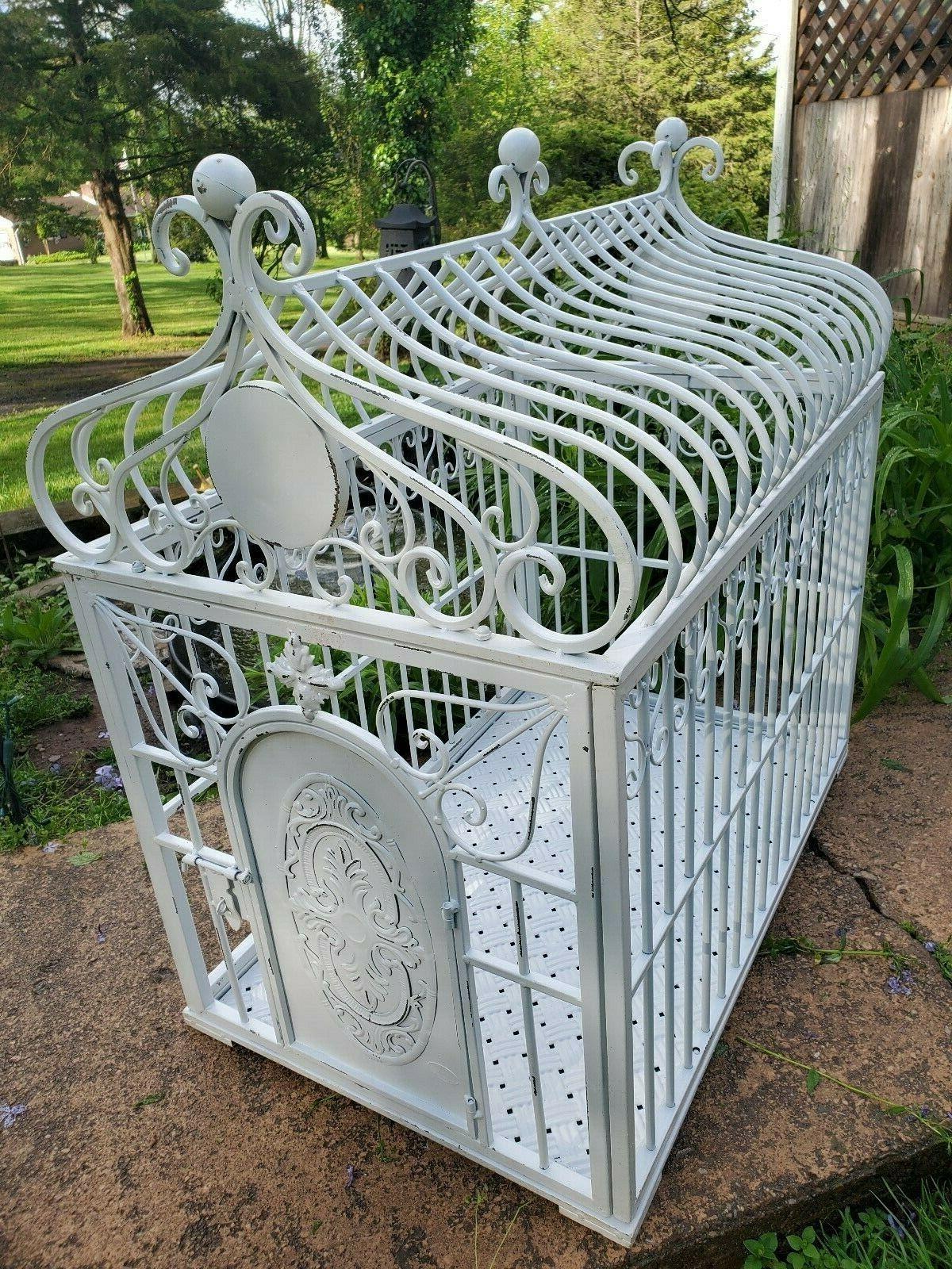 iron dog crates large only