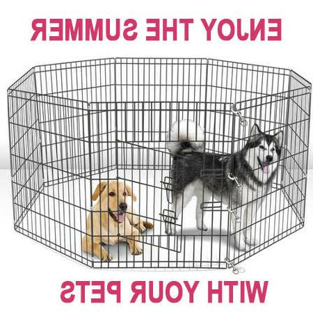 large wire folding pop up cage kennel