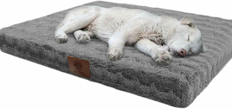 orthopedic crate pet bed 42 x 27