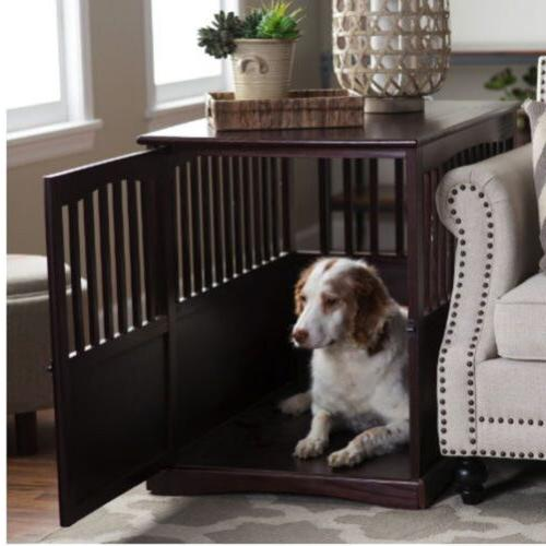 Table Dog Kennel House Cage Indoor Family Room