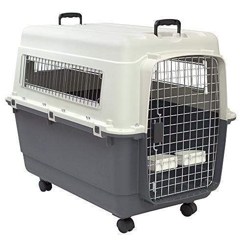 rolling dog crate airline approved