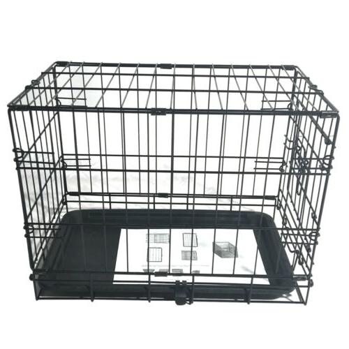 """20"""" Small Kennel Wire Metal Playpen Tray Indoor"""