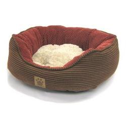 Snoozzy Pillow Soft Daydreamer Dog Bed MD Rust