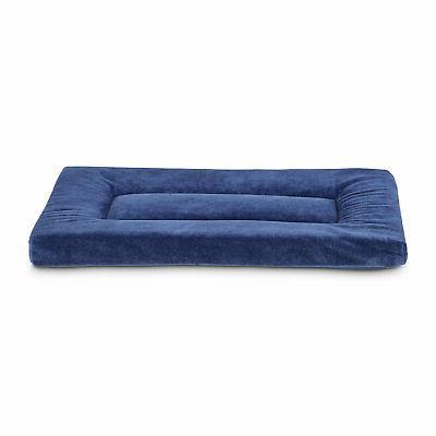 soft touch navy dog mat