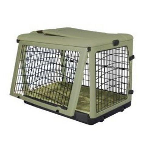 Pet Dog Crates w / Bolster & M L
