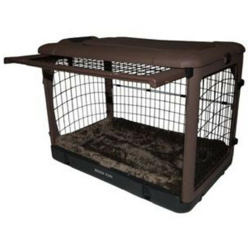 Pet Gear Steel Dog Crates Other w Bolster & Storage M