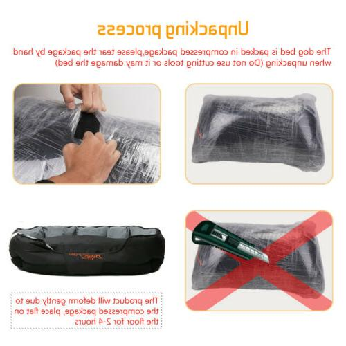 Waterproof XXL Jumbo Orthopedic Bed Washable