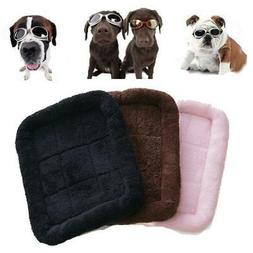 Pet Dog Puppy Cat Bed Warm Soft Mat for Crate Kennel Winter