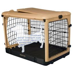 Pet Gear The Other Door Steel Crate with Black Mat and Carry