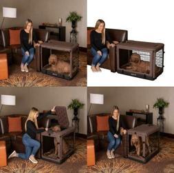 Pet Gear The Other Door Steel Crate with Fleece Pad for Cats