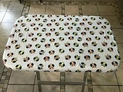 Owl Fitted Table, Crate Top or Tray Cover Dog Pet Custom Mad