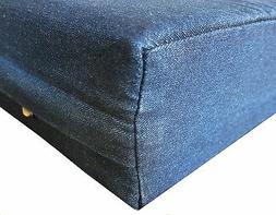 Pet Bed Cover Heavy Duty Denim Jean Replacement Duvet Cover