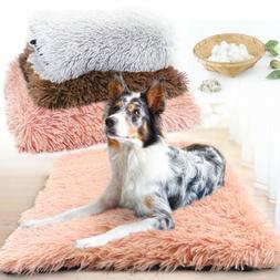 Pet Beds for Dogs Indestructible Plush Mat Mattress for Kenn