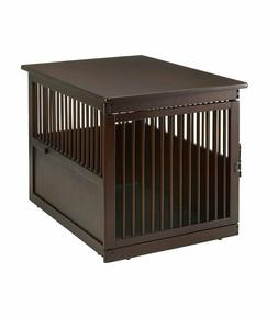 Pet Crate Iconic X LARGE 100 Lbs Dog + Woven Pliable decorat
