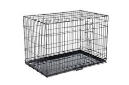 Confidence Pet Folding Dog Crate Kennels 2 Door Puppy Cage