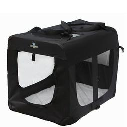 pet portable folding soft sided dog crate