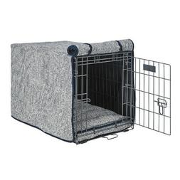 Bowsers Pet Products LAKESIDE Chenille Luxury Dog Crate Cove