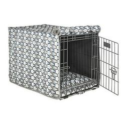Bowsers Pet TITAN Micro Jacquard Luxury Dog Crate Cover  —